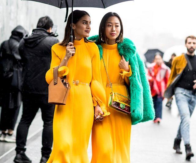 Fashionista New York Memukau Dengan Street Style New York Fashion Week